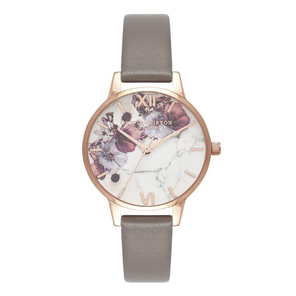 OLIVIA BURTON オリビアバートン Marble Florals マーブルフローラル 腕時計 OB16MF08 【送料無料】