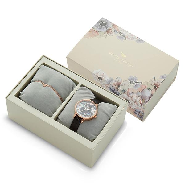OLIVIA BURTON オリビアバートン スペシャルボックスセット ブレスレット付き 腕時計 レディース OB16GSET24 【送料無料】