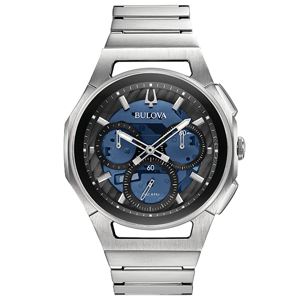 BULOVA ブローバ 腕時計 メンズ カーブ CURV クロノグラフ 96A205