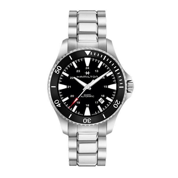 HAMILTON ハミルトン Khaki Navy カーキ ネイビー Scuba Auto 【国内正規品】 腕時計 H82335131 【送料無料】