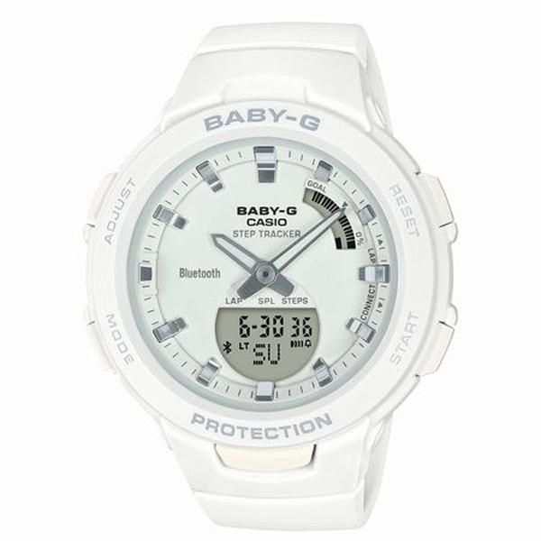 BABY-G ベイビージー CASIO カシオ G-SQUAD ジー・スクワッド 腕時計 BSA-B100-7AJF 【送料無料】