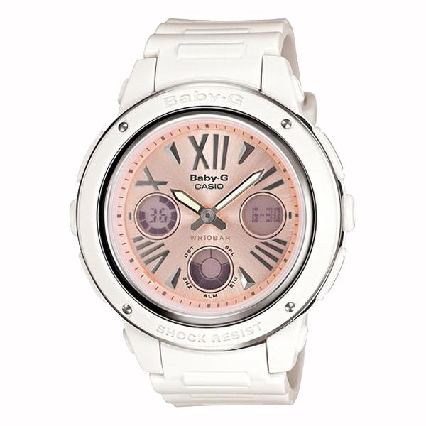 BABY-G ベイビージー CASIO カシオ 腕時計 【国内正規品】 レディース ホワイト/ピンク BGA-152-7B2JF 【送料無料】