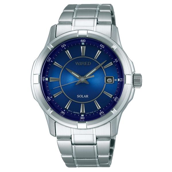 WIRED ワイアード SEIKO セイコー ソーラー 腕時計 メンズ AGAD067 【送料無料】