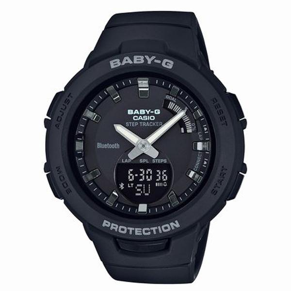 BABY-G ベイビージー CASIO カシオ G-SQUAD ジー・スクワッド 腕時計 BSA-B100-1AJF 【送料無料】