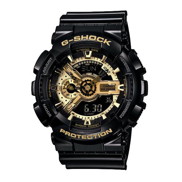 G-SHOCK ジーショック CASIO カシオ Black × Gold Series ブラック×ゴールド 【国内正規品】 腕時計 GA-110GB-1AJF 【送料無料】