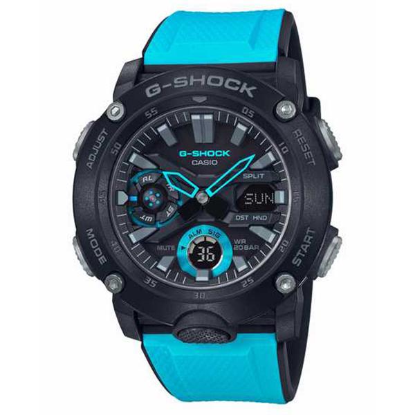 G-SHOCK ジーショック CASIO カシオ カーボンコアガード 腕時計 メンズ GA-2000-1A2JF 【送料無料】