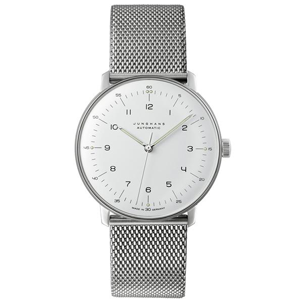 JUNGHANS ユンハンス Max Bill マックス・ビル 027 3500 00M 自動巻 ステンレス 腕時計 メンズ