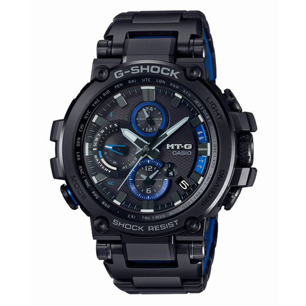 G-SHOCK ジーショック CASIO カシオ MT-G 電波ソーラー スマートフォンリンク 腕時計 MTG-B1000BD-1AJF 【送料無料】