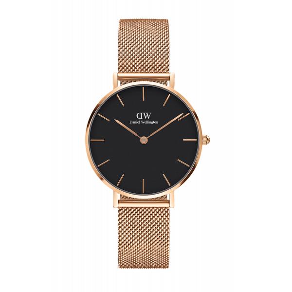 Daniel Wellington ダニエルウェリントン CLASSIC PETITE MELROSE BLACK 【国内正規品】 腕時計 DW00100161 【送料無料】
