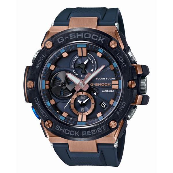 G-SHOCK ジーショック CASIO カシオ G-STEEL タフネスクロノグラフ 腕時計 GST-B100G-2AJF 【送料無料】