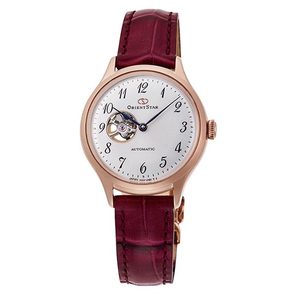 オリエントスター ORIENT STAR 腕時計 レディス 機械式自動巻 CLASSIC セミスケルトン RK-ND0006S