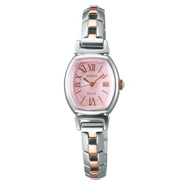 WIRED f WIRED ワイアード エフ SEIKO セイコー ソーラー 腕時計 レディース AGED060 【送料無料】