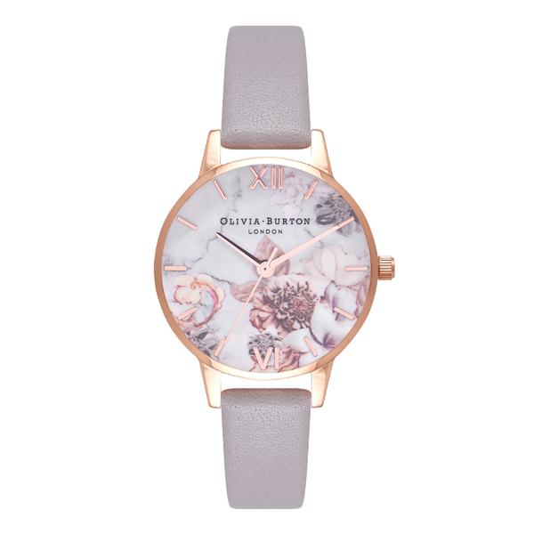 OLIVIA BURTON オリビアバートン Marble Florals マーブルフローラル 腕時計 OB16CS14 【送料無料】