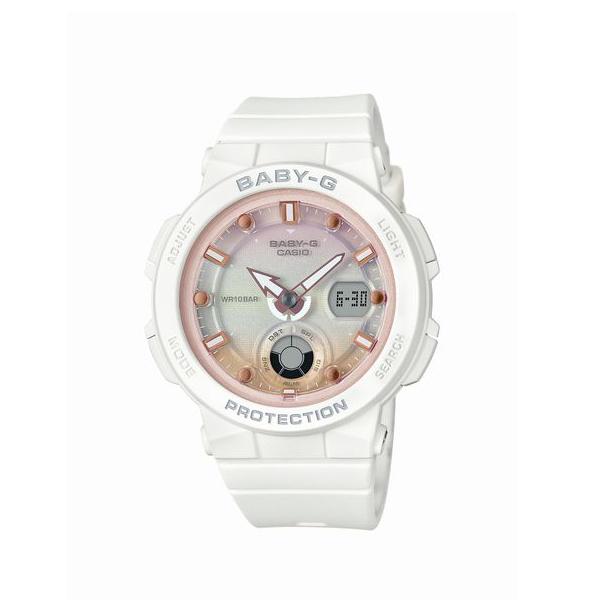 BABY-G ベイビージー CASIO カシオ Beach Traveler Series ビーチ トラベラー シリーズ 国内正規品 腕時計 レディース BGA-250-7A2JF 【送料無料】