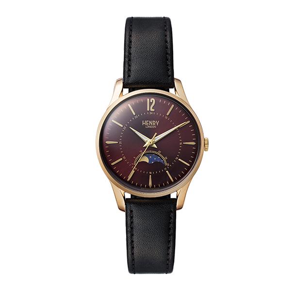 HENRY LONDON ヘンリー ロンドン 腕時計 レディス TiCTAC別注ペアモデル HOLBORN ムーンフェイズ HL34-LS-0428-TT