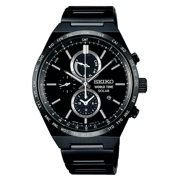 SEIKO SPIRIT SMART セイコー スピリット スマート ソーラー クロノグラフ 【国内正規品】 腕時計 メンズ SBPJ037 【送料無料】