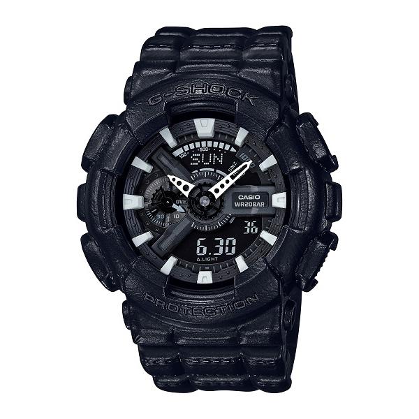 G-SHOCK ジーショック CASIO カシオ Black Out Texture 【国内正規品】 腕時計 GA-110BT-1AJF 【送料無料】