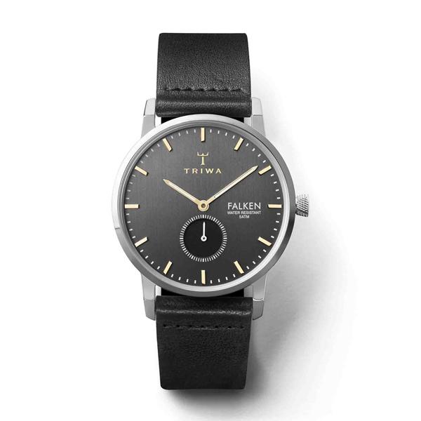 TRIWA トリワ SMOKY FALKEN スモーキー ファルケン BLACK CLASSIC 【国内正規品】 腕時計 FAST119-CL010112 【送料無料】
