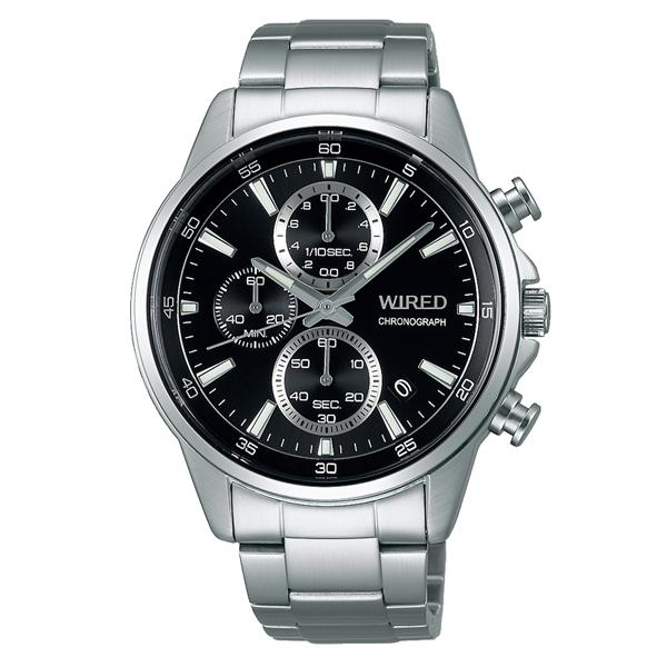 WIRED ワイアード SEIKO セイコ クロノグラフ 腕時計 メンズ AGAT424 【送料無料】