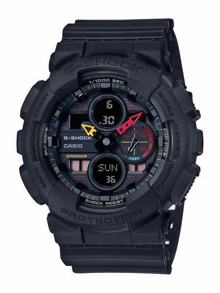 G-SHOCK カシオ Gショック SPECIAL COLOR Black × Neon  腕時計 メンズ GA-140BMC-1AJF