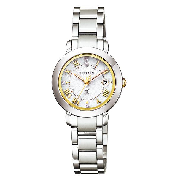 CITIZEN xC クロスシー エコドライブ 電波 アテッサペアモデル faether ティタニアライン ハッピーフライト 腕時計 レディス ES9440-51P