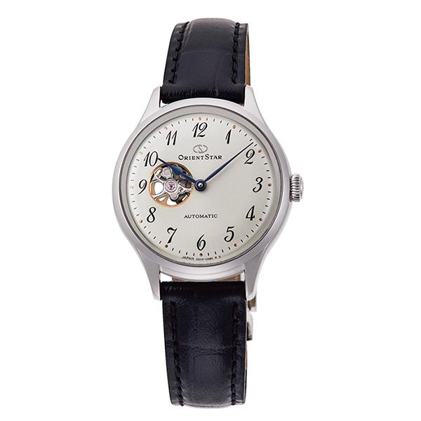 オリエントスター ORIENT STAR 腕時計 レディス 機械式自動巻 CLASSIC セミスケルトン RK-ND0007S