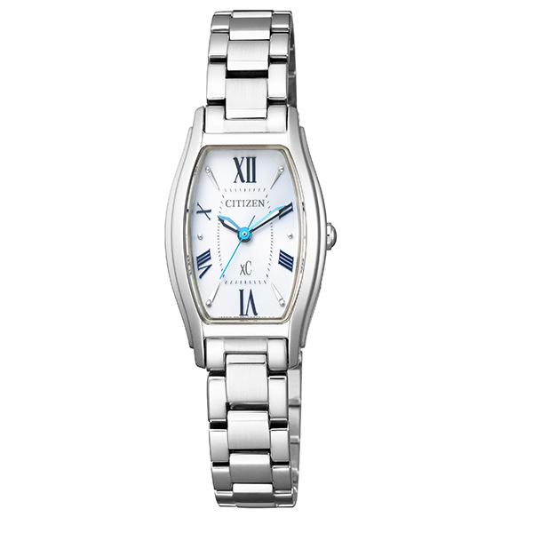 xC クロスシー CITIZEN シチズン エコ・ドライブ 角形 腕時計 レディース ソーラー ブランド EW5540-52A 【送料無料】