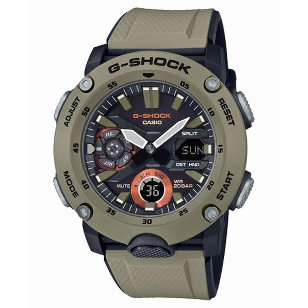 G-SHOCK ジーショック CASIO カシオ カーボンコアガード構造 腕時計 メンズ GA-2000-5AJF