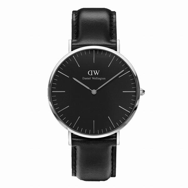 Daniel Wellington ダニエルウェリントン CLASSIC BLACK Sheffield 40mm 【国内正規品】 腕時計 DW00100133 【送料無料】