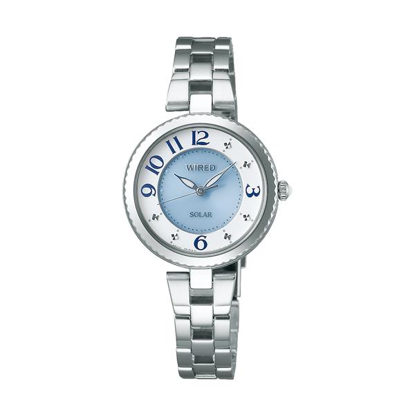 WIRED f ワイアード エフ SEIKO セイコー ソーラー 【国内正規品】 腕時計 レディース AGED086 【送料無料】