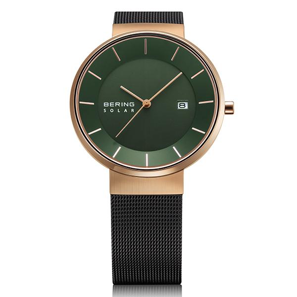 BERING ベーリング 腕時計 メンズ Scandinavian Solar スカンジナビアン ソーラー TiCTAC別注 14639-169