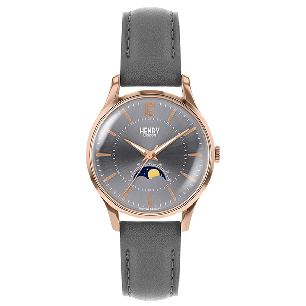 HENRY LONDON ヘンリーロンドン 腕時計 レディス FINCHLEY フィンチリー ムーンフェイズ 日本限定 HL34-LS-0424
