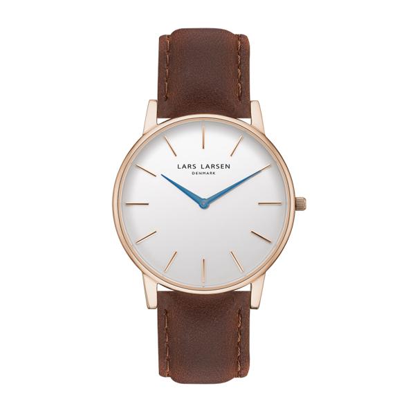 LARS LARSEN ラースラーセン LW47 【国内正規品】 腕時計 LL147RWBL 【送料無料】