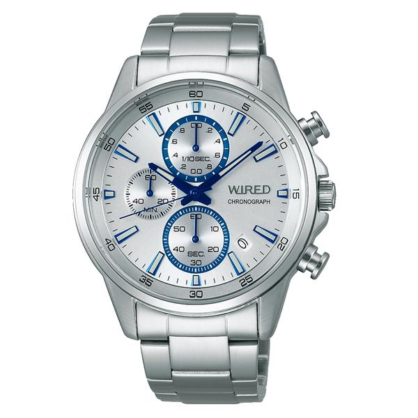 WIRED ワイアード SEIKO セイコ クロノグラフ 腕時計 メンズ AGAT425 【送料無料】