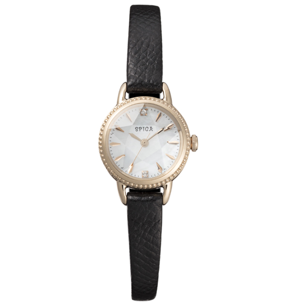 SPICA スピカ HOLIDAY COLLECTION スターソーラーラウンドカットガラス 200本限定 腕時計 SPI24-BLK/2018