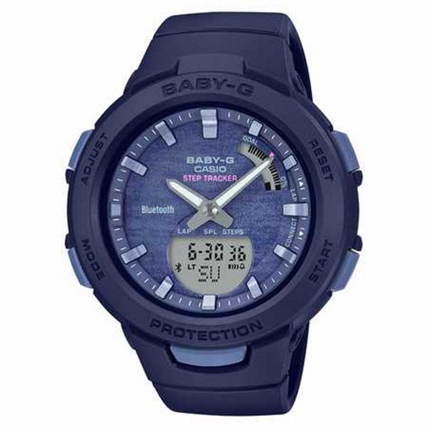 BABY-G カシオ ベビーG  ジー・スクワッド スマホリンク 腕時計 レディス G-SQUAD SMARTPHONE LINK BSA-B100AC-2AJF