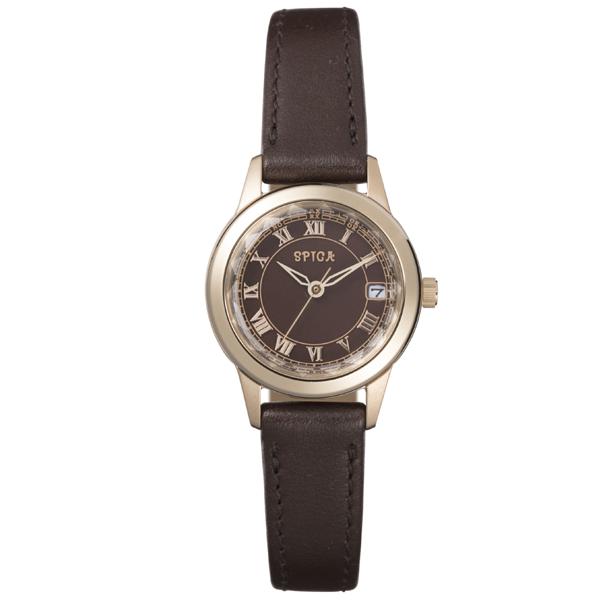 SPICA スピカ 電波ソーラー ペアモデル 国内正規品 腕時計 レディース SPI50-RY/BR 【送料無料】