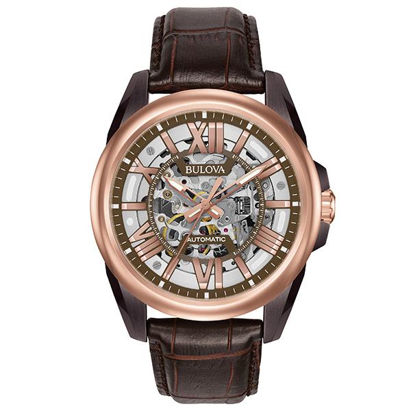 BULOVA ブローバ 腕時計 メンズ 自動巻 メカニカル クラシック CLASSIC 98A165