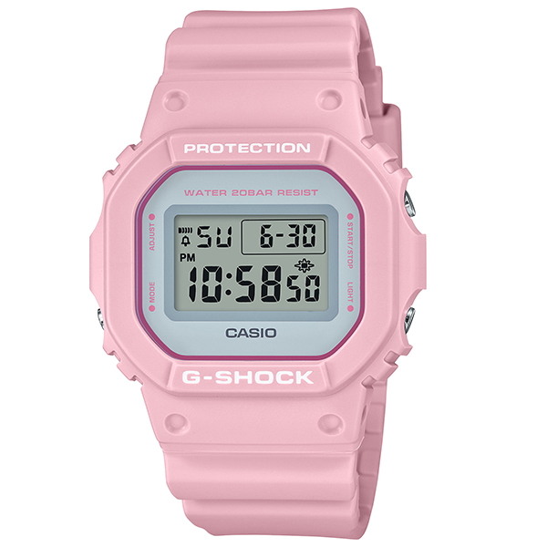 G-SHOCK ジーショック CASIO カシオ SPECIAL COLOR Spring Color Series 腕時計 DW-5600SC-4JF