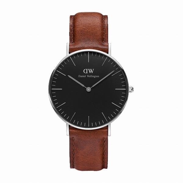 Daniel Wellington ダニエルウェリントン CLASSIC BLACK St Mawes 36mm 【国内正規品】 腕時計 DW00100142 【送料無料】