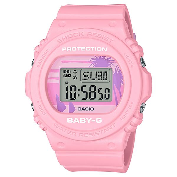 BABY-G ベビージー CASIO カシオ 80's Beach Colors ビーチカラーズ BGD-570BC-4JF 腕時計 レディース