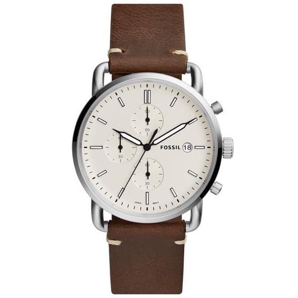FOSSIL フォッシル THE COMMUTER CHRONO コミューター 【国内正規品】 腕時計 メンズ FS5402 【送料無料】
