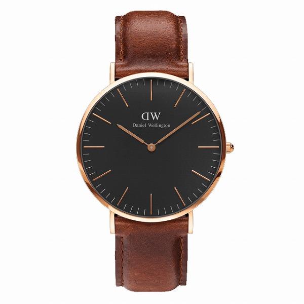 Daniel Wellington ダニエルウェリントン CLASSIC BLACK St Mawes 40mm 【国内正規品】 腕時計 DW00100124 【送料無料】
