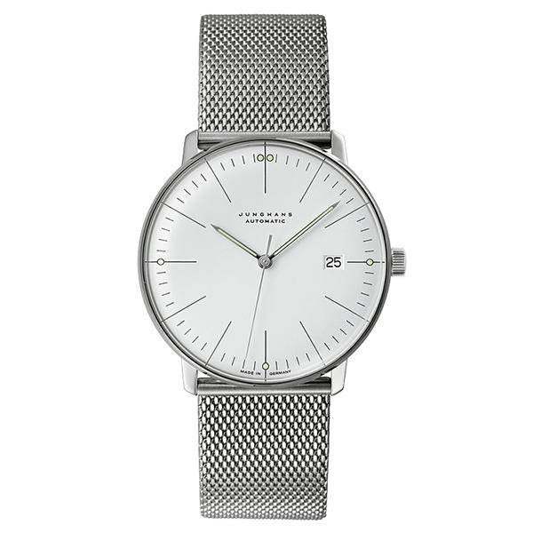 JUNGHANS ユンハンス Max Bill マックス・ビル 027 4002 44M 自動巻 ステンレス 腕時計 メンズ