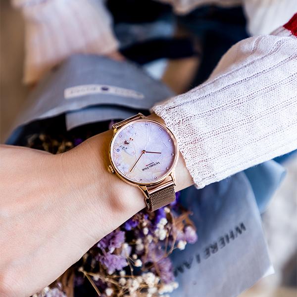国産品 VICTORIA HYDE LONDON ヴィクトリアハイドロンドン 腕時計 レディス クリスタル VH1031F, e-セレショップ a2a09055