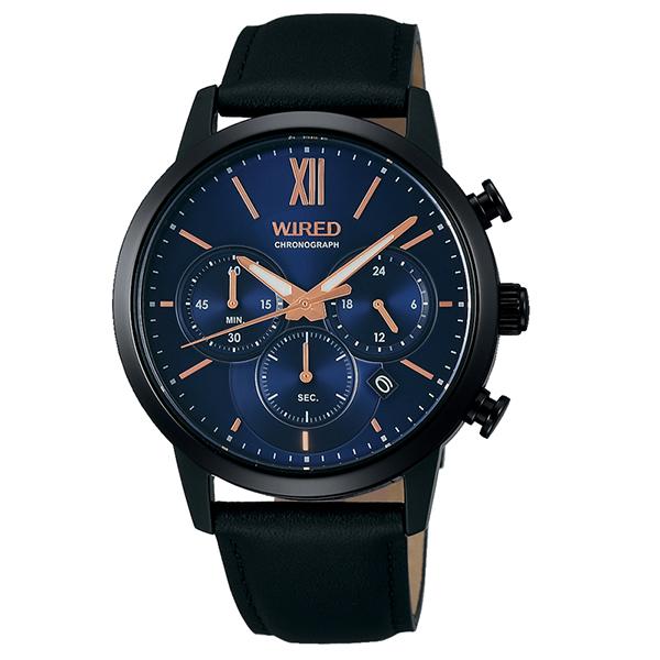 セイコー ワイアード SEIKO WIRED 腕時計 ペア メンズ  クロノグラフ TiCTAC別注 AGAT739