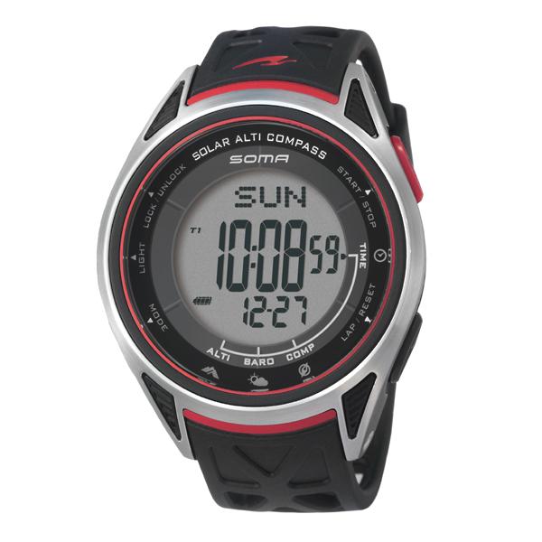 SOMA ソーマ RideONE SOLAR ALTI COMPASS 【国内正規品】 腕時計 NS24001 【送料無料】