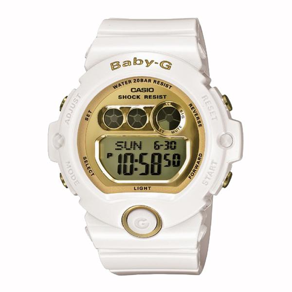 BABY-G ベイビージー CASIO カシオ 腕時計 【国内正規品】 レディース ホワイト/ゴールド BG-6901-7JF 【送料無料】