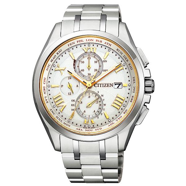 CITIZEN シチズン ATTESA アテッサ HABATAKI PAIR ペア限定モデル ダイレクトフライト 腕時計 メンズ AT8041-62A