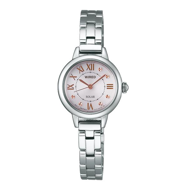 WIRED f ワイアード エフ SEIKO セイコー ソーラー 【国内正規品】 腕時計 レディース AGED094 【送料無料】